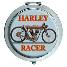 Harley Racer Motorcycle Compact Mirror