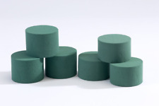 5 x Oasis Ideal Round Cylinder Wet Foam for Florist Floral Craft Flowers Designs