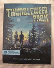 Thimbleweed Park Sony Playstation 4 PS4 Limited Run Games #131 New Big Box