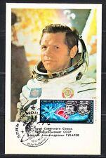 Soviet Russia 1978 space maxi card astronaut A.Gubarev