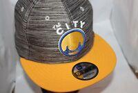 Golden State Warriors New Era NBA HWC Blurred Trick 9Fifty,Snapback,Hat,Cap