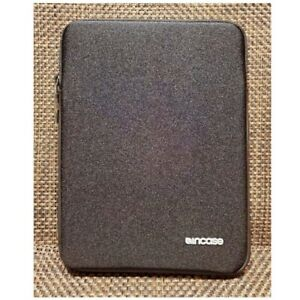 """Incase Neoprene Sleeve fits up to 9.4"""" iPad 2-3 or Tablet. Plush Faux Fur Lining"""