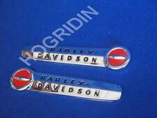 OEM 1947-1950 Harley Davidson panhead knucklehead EL FL  FLH gas tank emblems