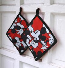 Mickey Mouse Pot Holder Cook Baker Gift Vintage Fabric
