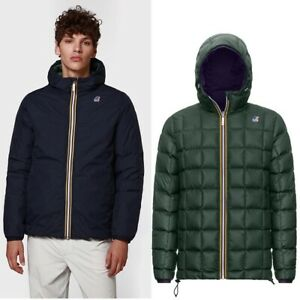 K-WAY Jacques Thermo PLUS.2 Double K111BEW Jacket Reversible Kway A01 2020/21