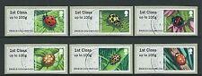 La grande-bretagne 2016 post et aller ladybirds set of 6 fine used