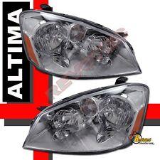 Chrome Headlights Lamps For 05 06 Nissan Altima SE-R SL SE RH + LH
