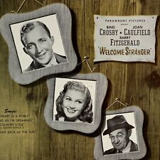 Country Style Square Dance Sheet Music 1947 Welcome Stranger Crosby Caulfield