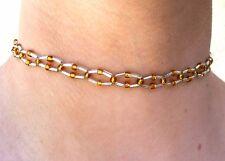 Beaded handmade Choker adjustable Necklace Clear beads fashion jewelry INDIA