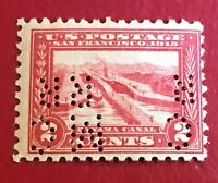 US SCOTT Cat # 402 MH OG Inverted PERFIN Pan-Pacific 2c Stamp FREE S&H CV $70