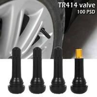N°100 Valvole TR413 x AUTO cerchi in lega e ferro foro 11.3mm Madein ITALY