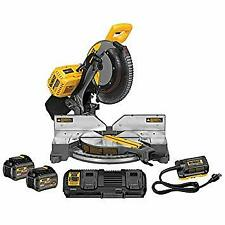 New Stanley Black & Decker Dhs716At2 120V Max Fv Fixed Miter Saw 2Bat Kit