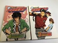 Reborn ! Manga Volumes 3 4 3-4 Anime Graphic Novel Akita Amano Shonen Jump