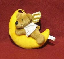 ♥ Weihnachts  Engel Bär Teddy im Mond ♥ Nici ♥ rar ♥