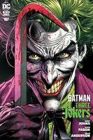 BATMAN 3 THREE JOKERS #1 Cover A + Fabok Variant + Premium A B C LOT of 5