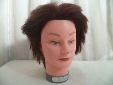 Ancienne tete d'étude a coiffer cheveux naturels