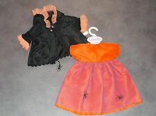 VETEMENT RARE TENUE  HALOWEEN COROLLE COLLECTION POUPEE COROLLE 42-44 cm