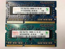 Hynix 4GB (2x 2GB) 1Rx8 PC3 10600S HMT325S6BFR8C-H9  - Fast Ship