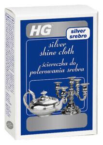 HG Silver Shine Cloth - The Silver Polishing Cloth for Shiny Silverware