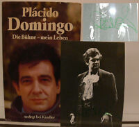 Placido Domingo signiert Buch Oper Original signed autograph Signatur Autogramm