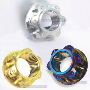 1pc * Titanium Alloy M16 / M18 / M20 * 1.5 mm Pitch Nut For Motorcycle Rear Axle