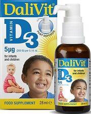 DALIVIT VITAMIN D3 FOOD SUPPLEMENT - 28ML
