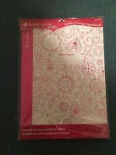 American Girl Crafts Doodle Design Sketchbook, Floral.