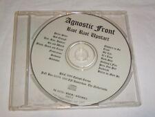 CD - Agnostic Front Riot Riot Upstart - 1999 Promo - 8