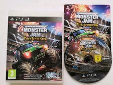 Monster Jam Path Of Destruction Jeu Game Sony PlayStation 3 Ps3 avec notice
