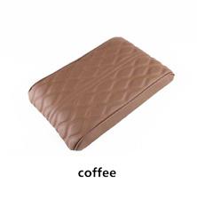 Leather/Foam Sponge Car Armrest Pad Cover Center Console Dust-proof Cushion Mat