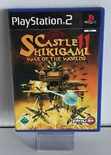 Castle shikigami 2-era of the Worlds-PlayStation ps2 completamente pal a8535