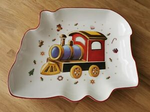 Villeroy & Boch 1 Teller Kinderteller Gebäckteller TOYS DELIGHT Eisenbahn - TOP