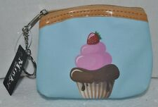Cute Cupcake Candy Cake Dessert Food Snacks Coin Pouch Purse Wallet Keychain NEW