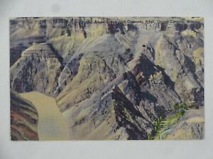 Linen Teich Postcard Bright Angel Creek and Colorado River Grand Canyon Unposted