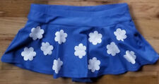 NWT HANNA ANDERSSON WIND SAIL BLUE WHITE FLORAL FLUTTER SWIM SKIRT  110 4 5 6
