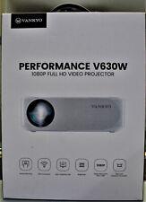 Vankyo Performance V630W Native 1080P Projector Full HD WiFi LCD Display
