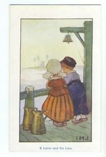 ch0095 - Children - A Lover and his Lass - artist IMJ - postcard