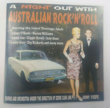 A NIGHT OUT WITH AUSTRALIAN ROCK'N'ROLL Rock and Roll Johnny O'keefe 33 tracks