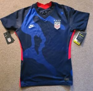 Nike USWNT Soccer Jersey Away 2020-21 (CD0907-475) Womens Size M (slim)