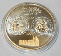 10 EURO 2009 Münze Deutschland Silber 600 Jahre Universität Leipzig