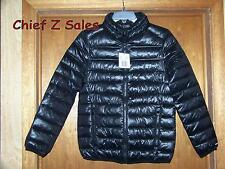 NEW Ladies Black EXIT59 Small puffer jacket coat lightweight insulated puff S