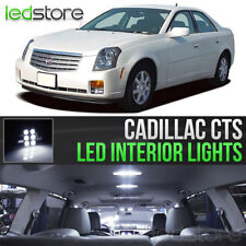 2003-2007 Cadillac CTS White Interior LED Lights Kit Package