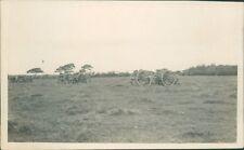 WW1 Postcard 5th Lancashire  Artillery Volunteers gun Carriages Summer 1913