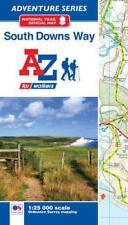Sud Downs Way Adventure Atlas par géographes' A-Z CARTE Co Ltd Livre de poche