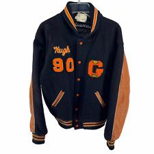 New listing Vintage 1960s Portland Oregon Indians Letterman Jacket Varsity Size L Black