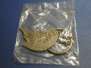 TOOL Army Keychain Alex Grey Flaming Eye. Brand New & Still Sealed!