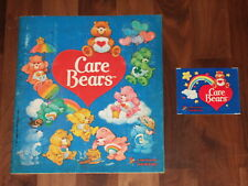Care Bears 1985 Panini Complete Sticker Album & empty packet