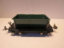 Lionel Prewar No. 659 Dump Car Green O Scale Model Train