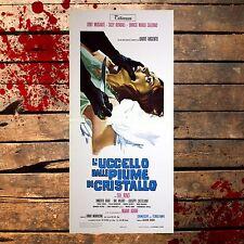 Locandina Originale L'Uccello Dalle Piume Di Cristallo- 33x70 CM
