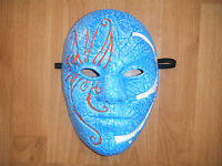 HOLLYWOOD UNDEAD 3 TEARS JOHNNY BLUE HALLOWEEN FANCY DRESS UP MASK ADULT COSPLAY